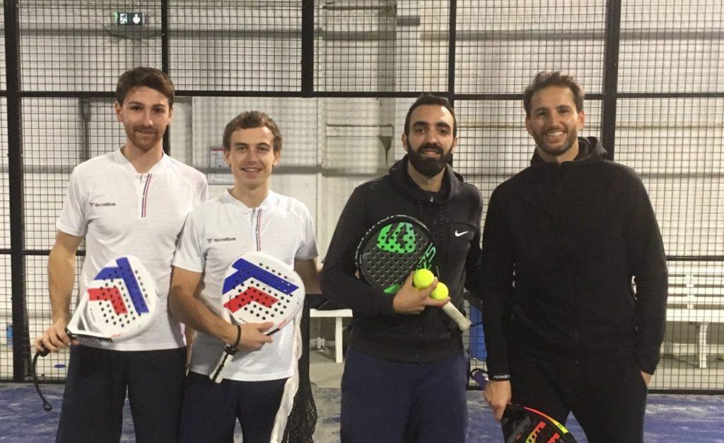 Ganadores de Coirault / Melot a los 4Padel Rouen