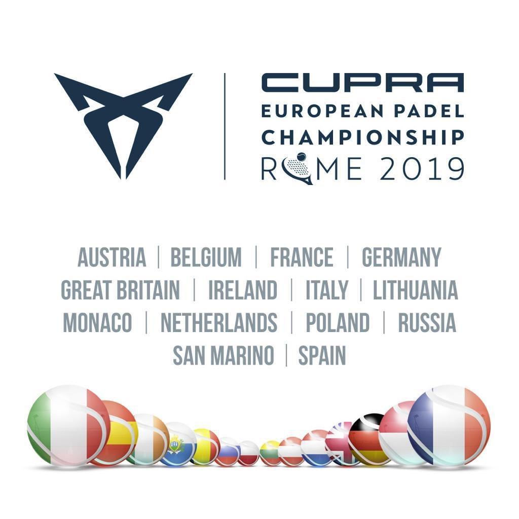 抽選-ヨーロッパオープンチャンピオンシップ Padel 2019