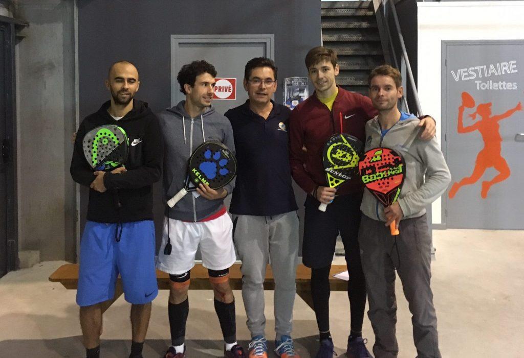 Victoire au Racket Park