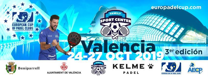 Valencia copa europea padel 2019