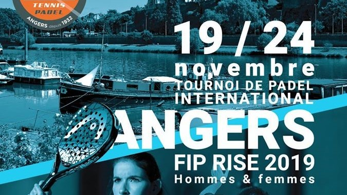 FIP RISE ANGERS - 1/2 dames - Sorel / Invernon vs Barsotti / Meites