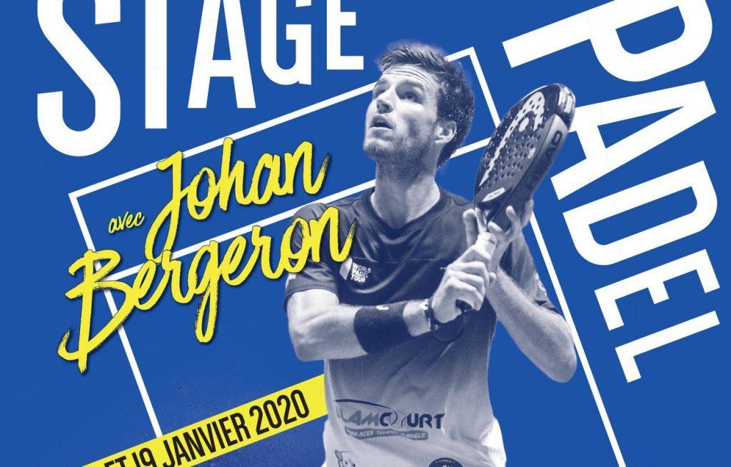 Stage Padel Amiens avec Johan Bergeron au TCAM