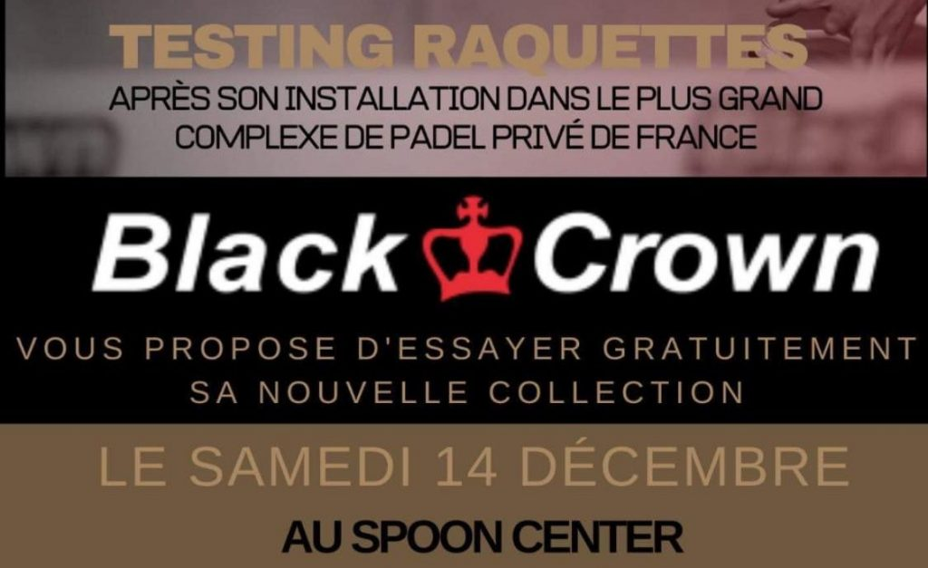 BlackCrown se teste au Spoon Center