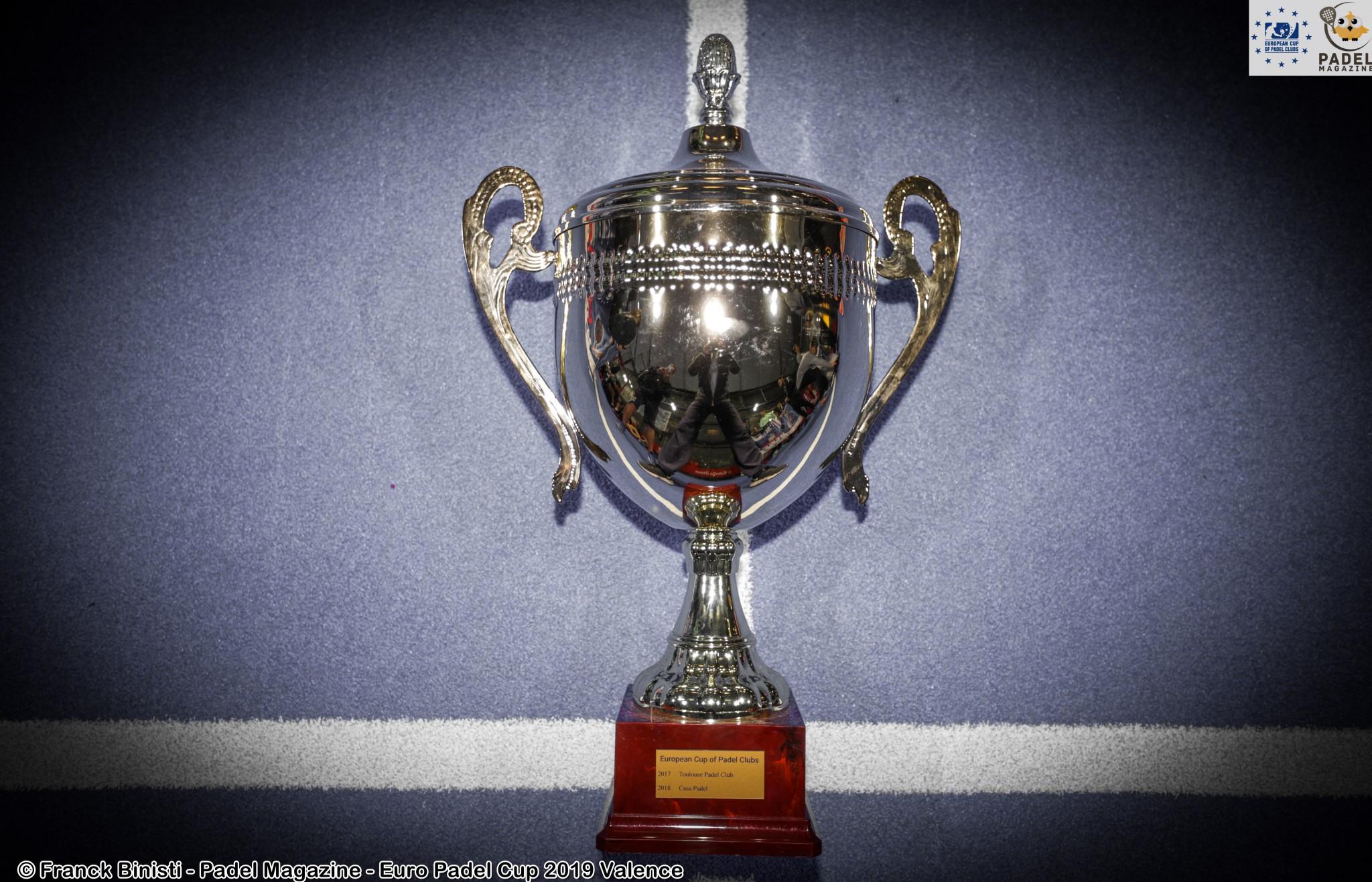 coupe trophée euro padel cup 2019
