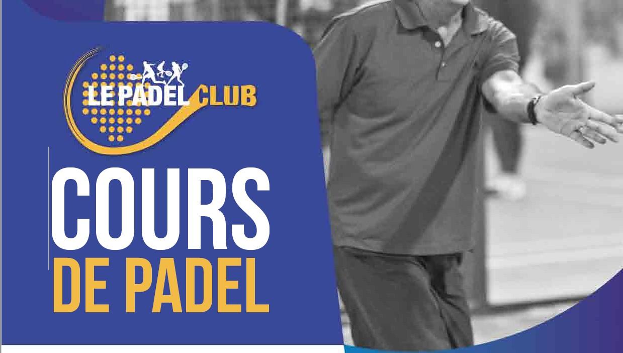 Cours de padel 2020 – Le Padel Club