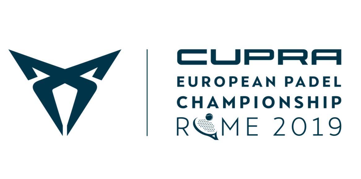 cupra padel europe|EURO PADEL CHAMPIONSHOP 2019|logo european padel championship