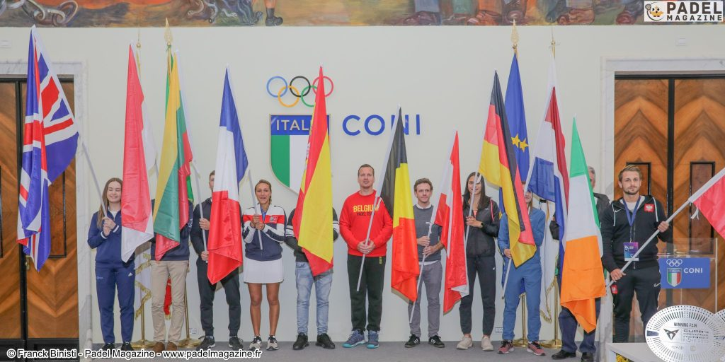 drapeau europe padel