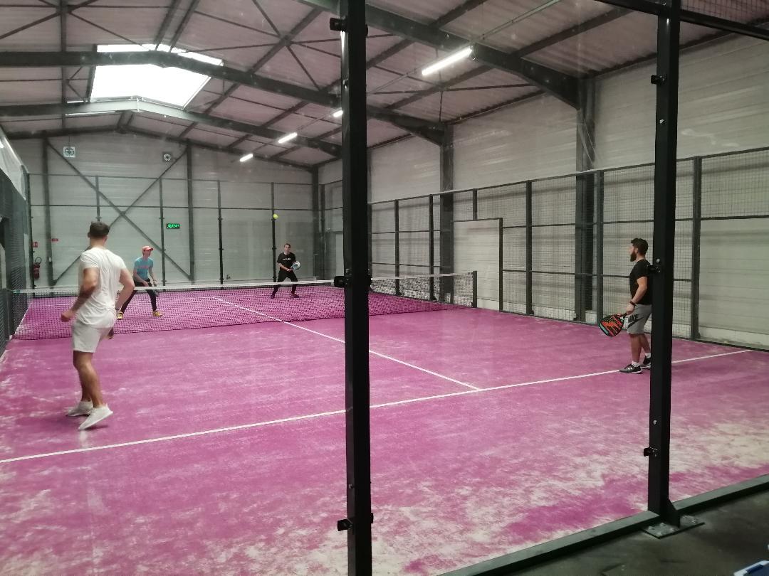 Elan Sport : Succès du padel à Saint-Etienne