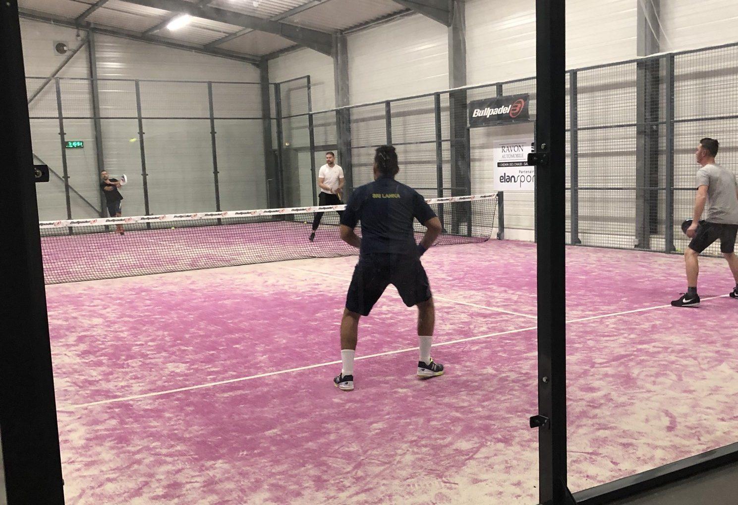 Elan Sport : Le padel à portée de Saint-Etienne