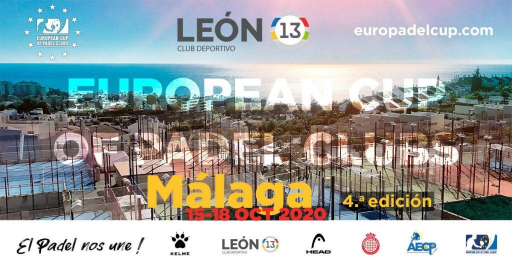 Euro Padel Cup 2020 : Direction le Club Deportivo Leon 13 Malaga