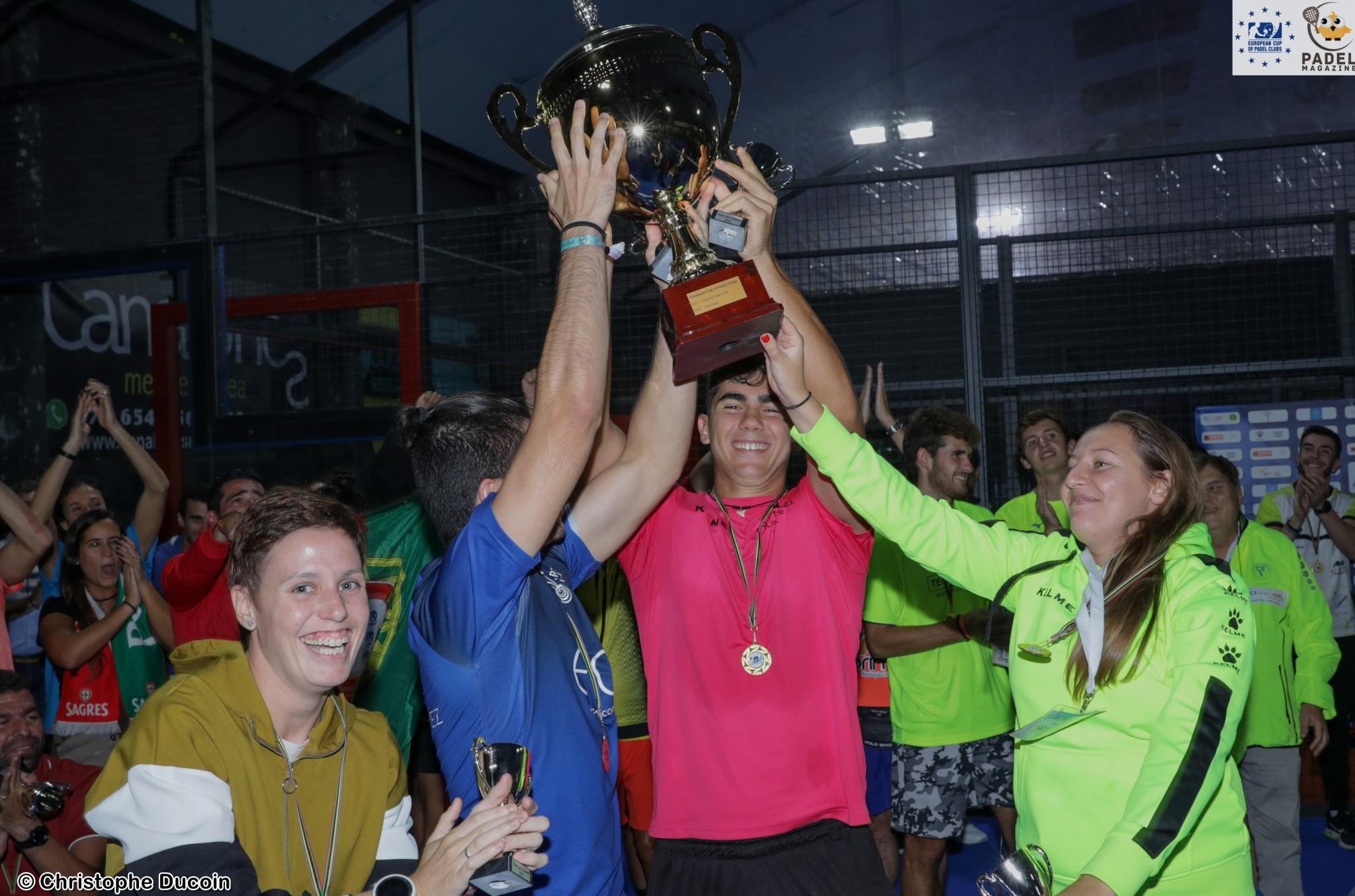 KELME ROMA SPORT remporte la 3e édition de l'Euro Padel Cup