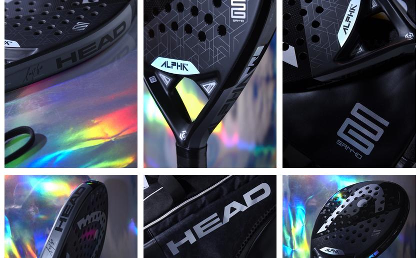 Head Padel Alpha 2020 na zdjęciach