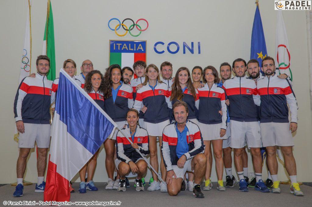 italie padel équipe 2019 rome