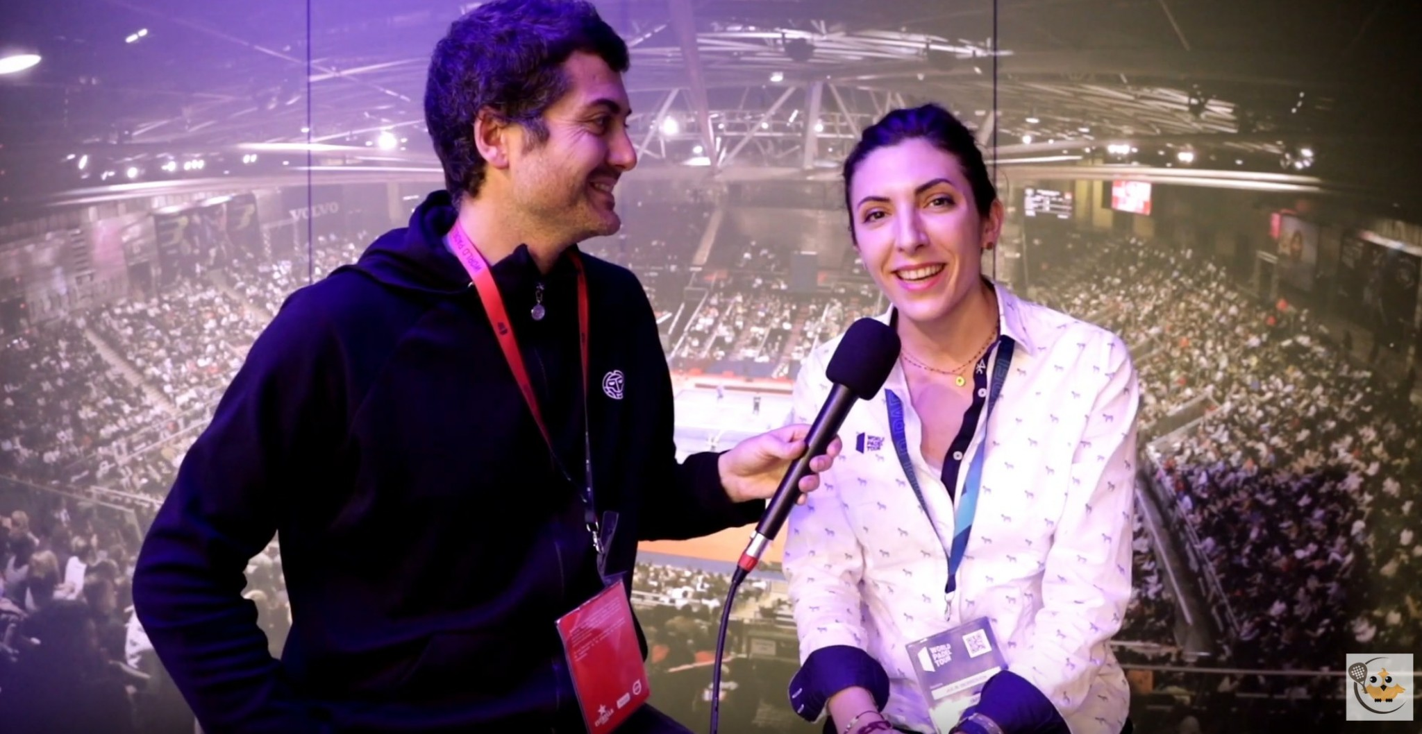 Julie Derrough : Les coulisses du World Padel Tour