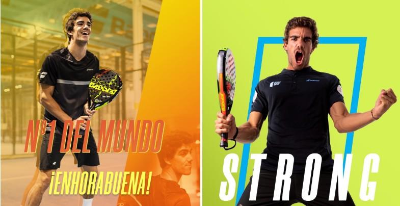 Juan Lebron: world No. 1… in Brazil. What irony!