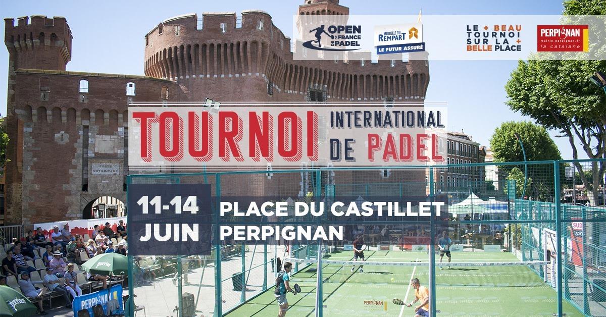 Open de France de padel Perpignan 2020