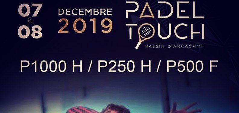 Open Padel Touch – P1000 / P500 / P250 – 7 et 8 décembre