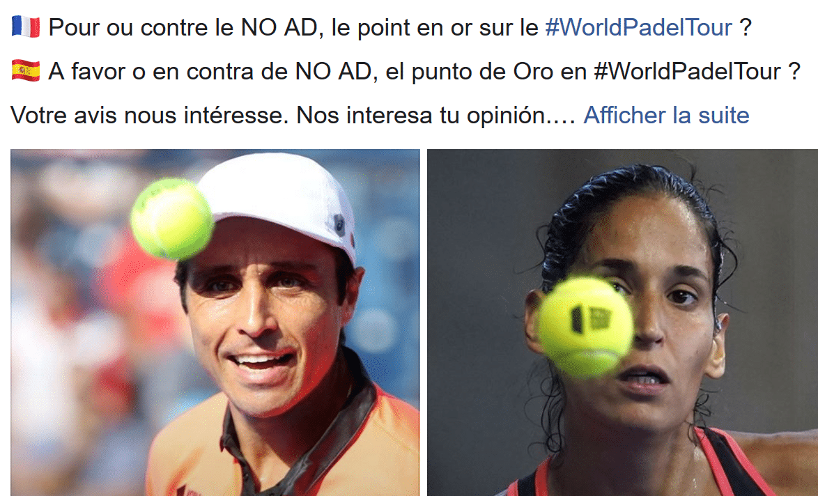 Le point en or sur le WPT PADEL : Pour ou contre