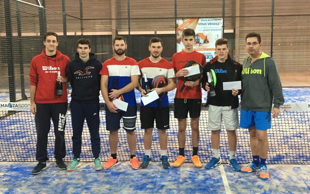 Poupineau / Fontaine remporte l'Open Racket Park Amboise