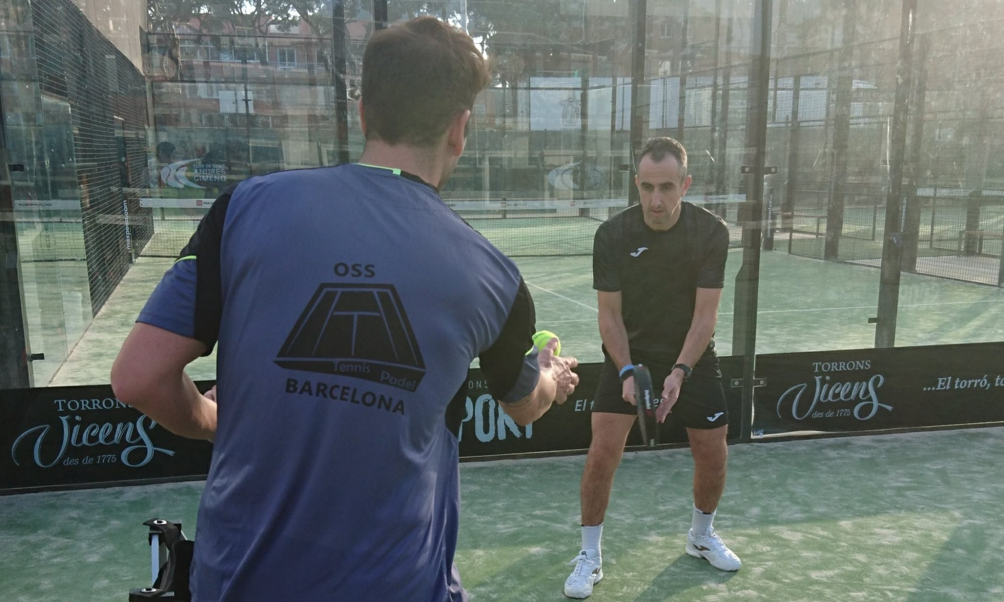 stage padel oss barcelona | world padel tour stage padel