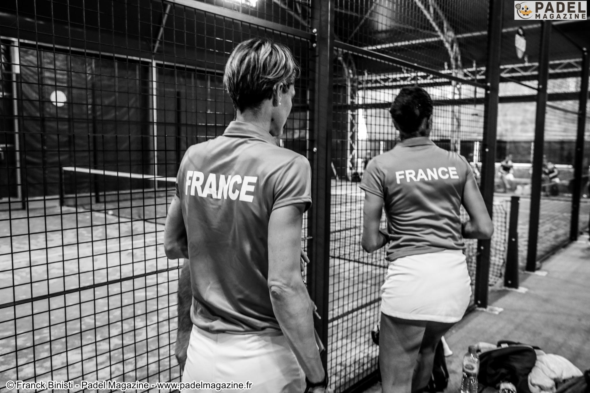 Team Frankreich Ladies Padel