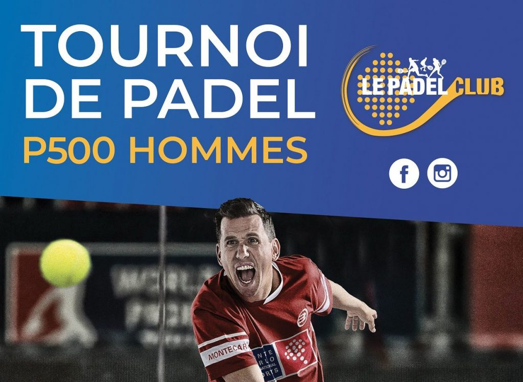 Le Padel Club Bois d'Arcy : Tournoi padel 23 novembre