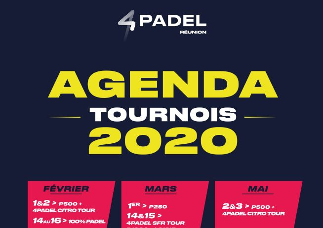 2020 : L'année du 4PADEL Réunion!