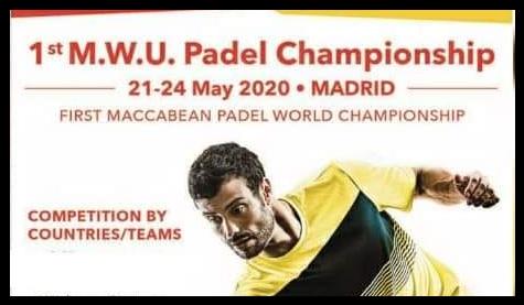 Narodziny pierwszych mistrzostw świata Padel Maccabi