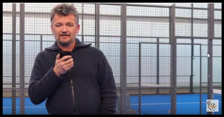 Alain Henry fier du padel en pays catalan