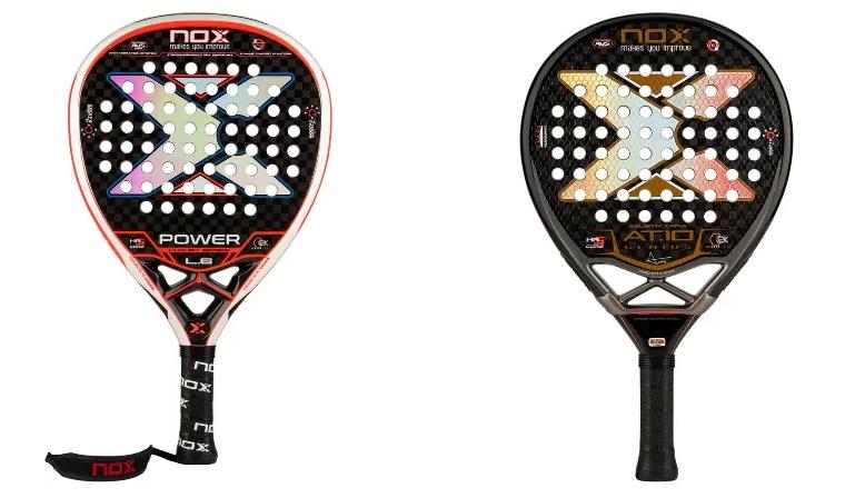 Nox Padel : les raquettes des Alayeto
