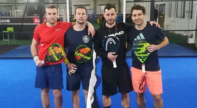Open PadelCourt by Padel Infinity: Grué / Castaing obviously!