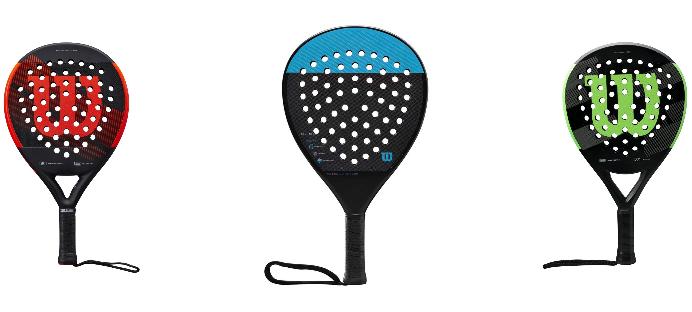 Wilson Padel: het racketprogramma 2020
