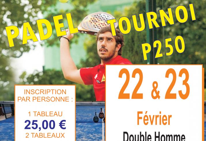 Racket Park Amboise – Tournois Messieurs / Dames / Mixtes !