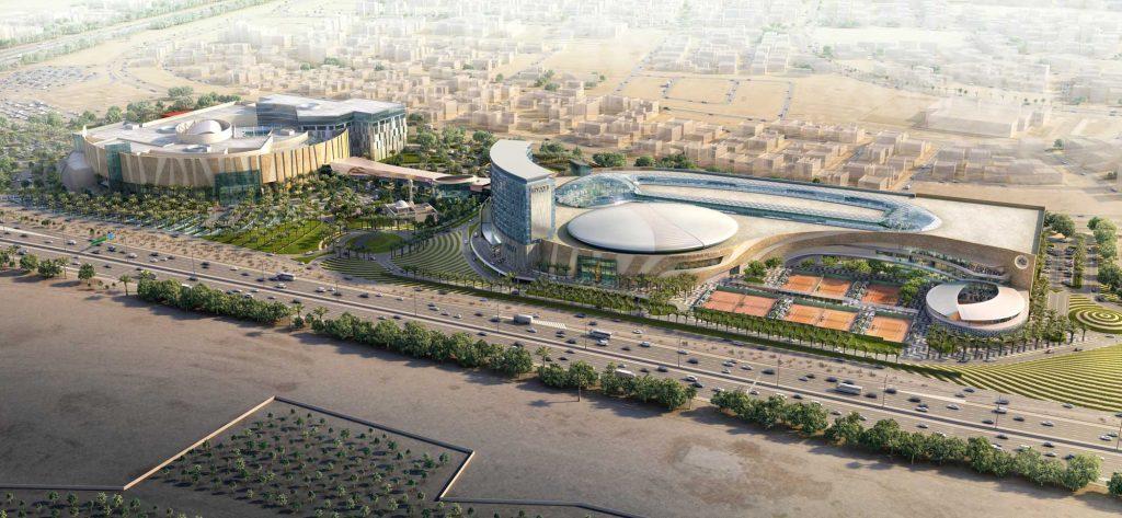 Rafa Nadal Academy Kuwait : Pharaonique !