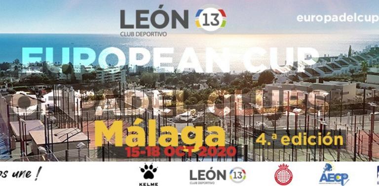 Champions league du padel avec 24 clubs à Malaga : 15 au 18 octobre 2020