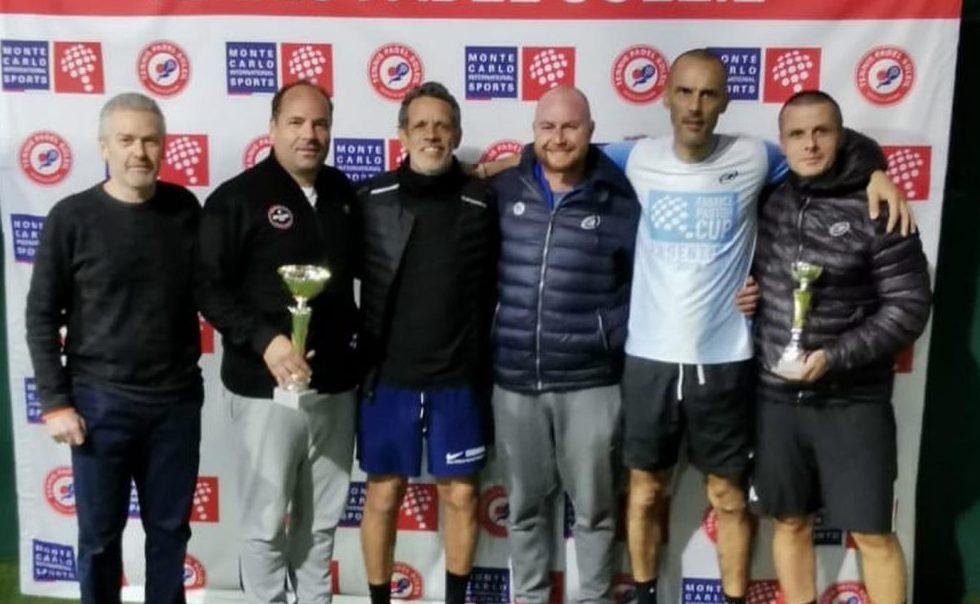Delaboudinnière / Contet remporte l'Open Tennis Padel Soleil