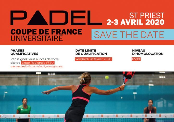 Coupe de France de Padel Université 2020