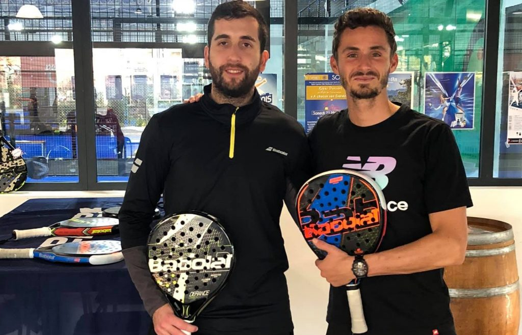 VIAPADEL / PADEL INFINITY: The winning pair at Central Padel