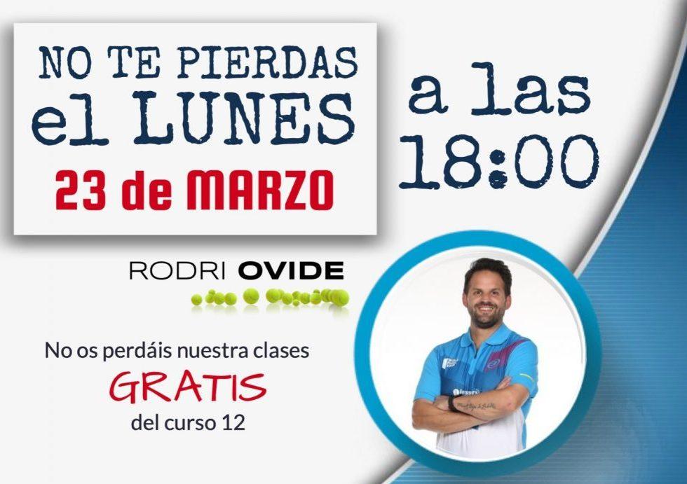 Cours de padel gratuit de Rodrigo Ovide