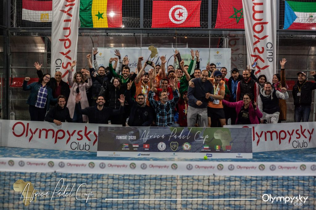 Africa Padel Cup : Olympysky garde son titre