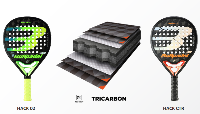 Le Tricarbon : une innovation Bullpadel
