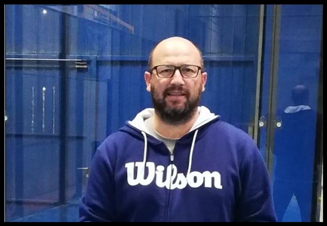 Hugo Cases signe chez Wilson Padel