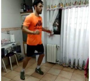 Sergio Alba physique appuis