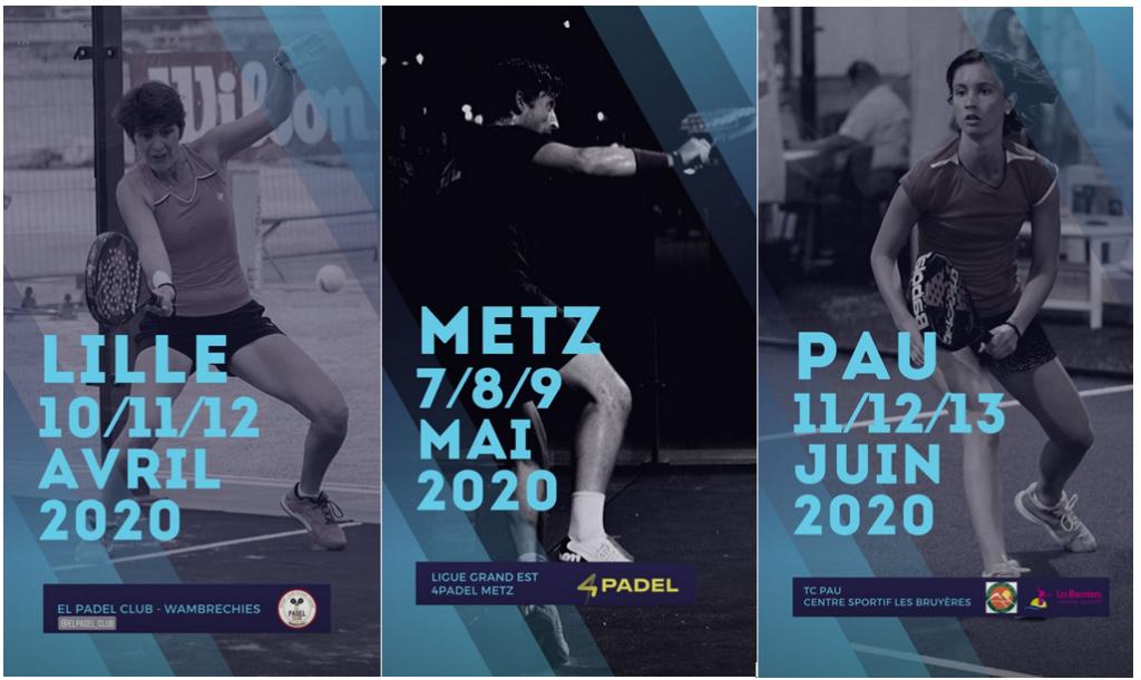 FFT Padel Tour 2020:周四至周六的活动-支持还是反对?