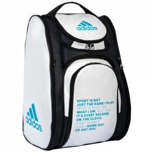 ropa deportiva de alto rendimiento super barato se compara con buscar oficial paletero-adidas-multigame-2.0 white standing - Padel Magazine