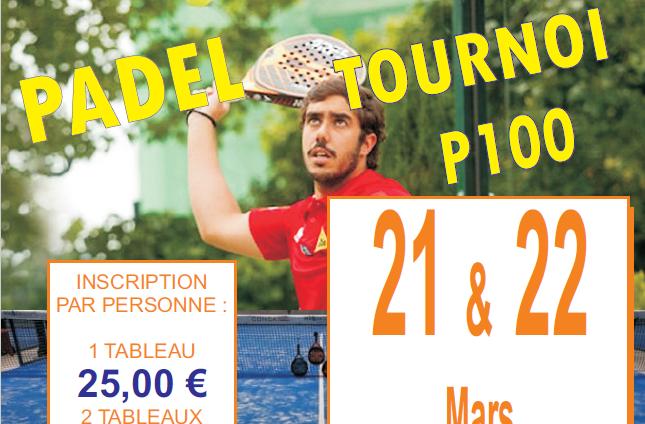 Racket Park : P100 + 45 ANS – 21 et 22 Mars 2020