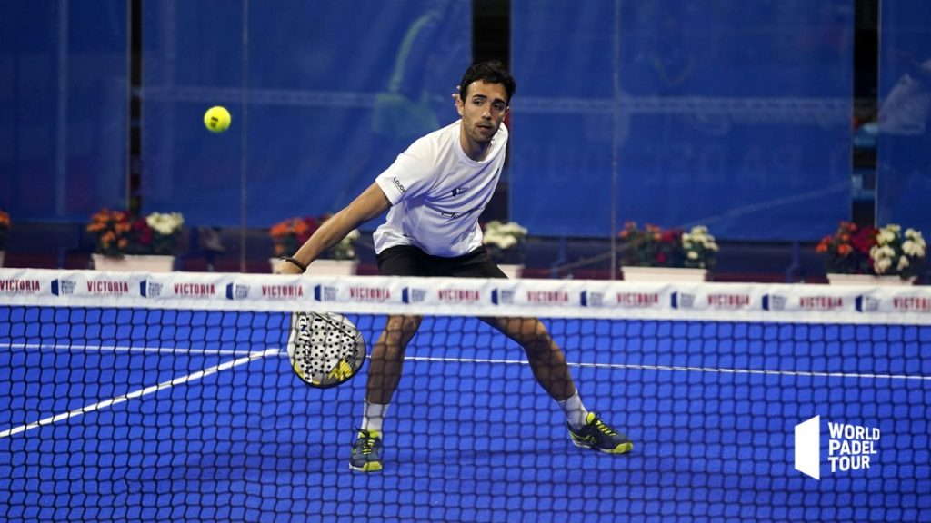 "Sergio Alba: ""the physical is essential in the current padel"""