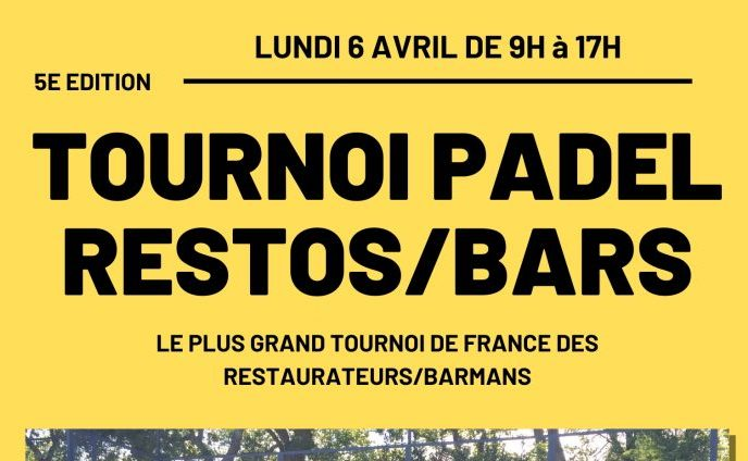 Le plus grand tournoi de padel de France des restos/bars est à Perpignan !