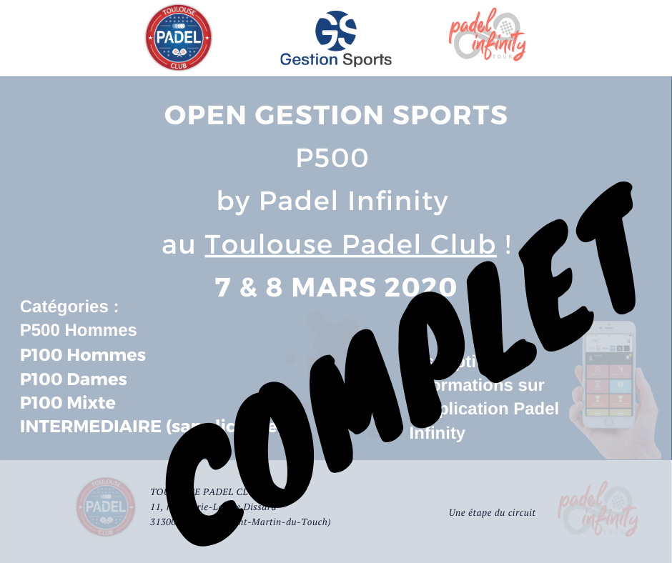 LE P500 GESTION SPORTS COMPLET