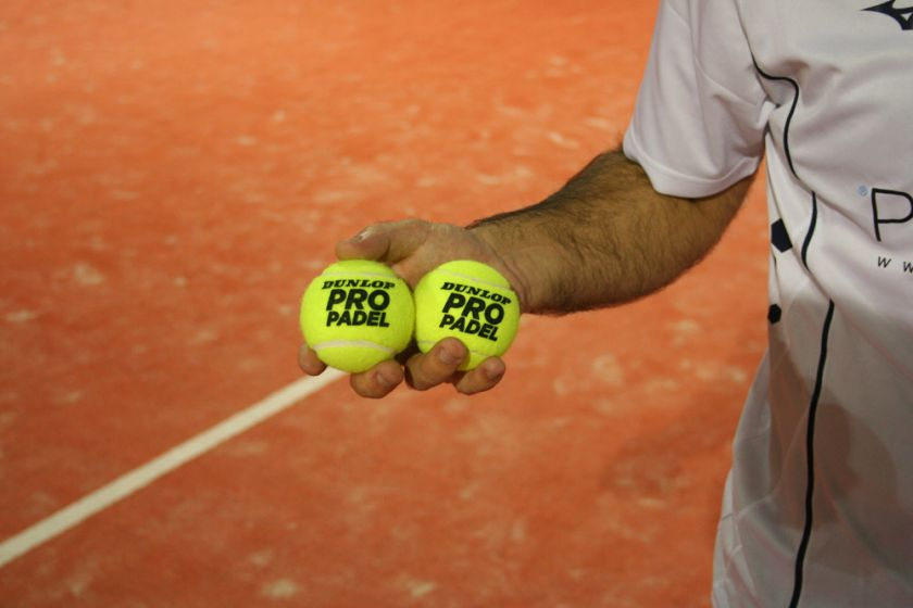 The range of balls offered by Dunlop Padel